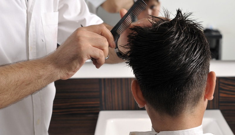 Coiffure for Salon de coiffure pour homme